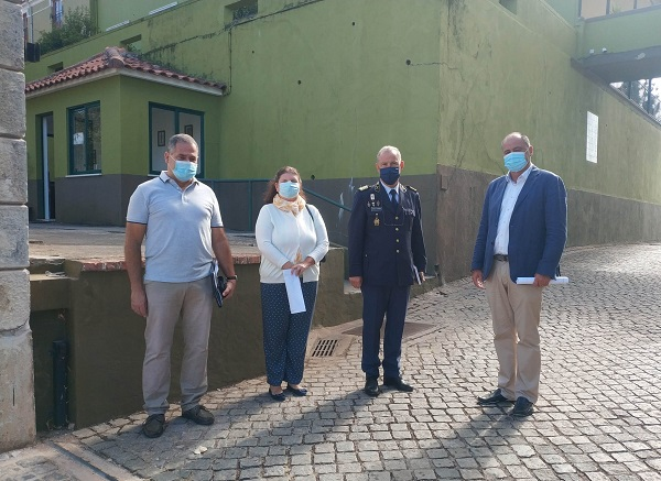 Rádio Regional do Centro: Candidato do Chega à Câmara de Coimbra visitou GNR e falou de segurança