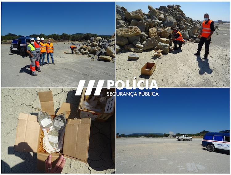 Rádio Regional do Centro: PSP de Coimbra destrói explosivos através do método de detonação