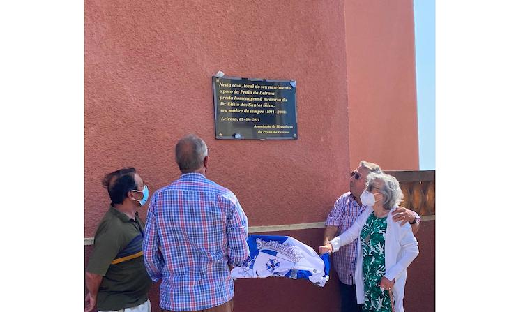 Rádio Regional do Centro: Associação de Moradores da Praia da Leirosa homenageia Elísio Santos Silva