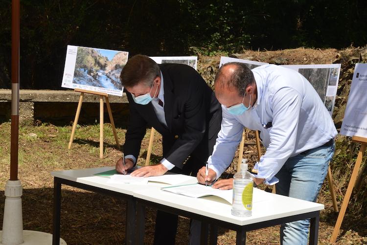 Rádio Regional do Centro: Assinado auto de consignação da empreitada de reabilitação fluvial do rio Ceira