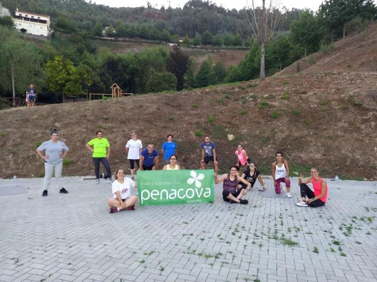 Rádio Regional do Centro: Agosto foi mês de actividade física ao ar livre por Penacova