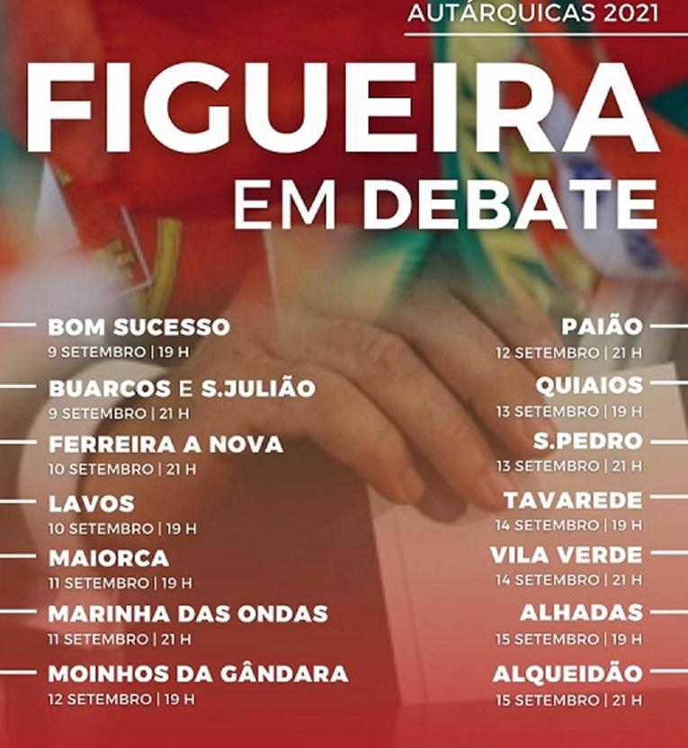 """Rádio Regional do Centro: """"Autárquicas 2021 – Figueira da Foz em Debate"""" dá voz às 14 freguesias"""