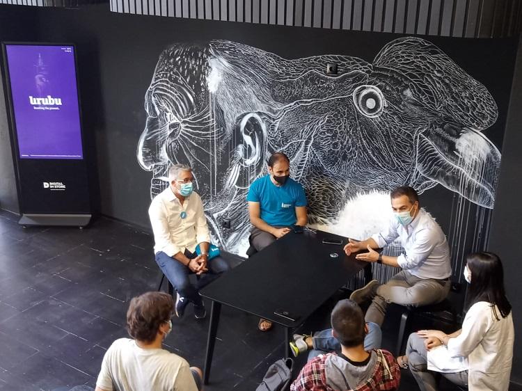 Rádio Regional do Centro: Iniciativa Liberal de Coimbra e Tiago Meireles Ribeiro visitam a Urubu