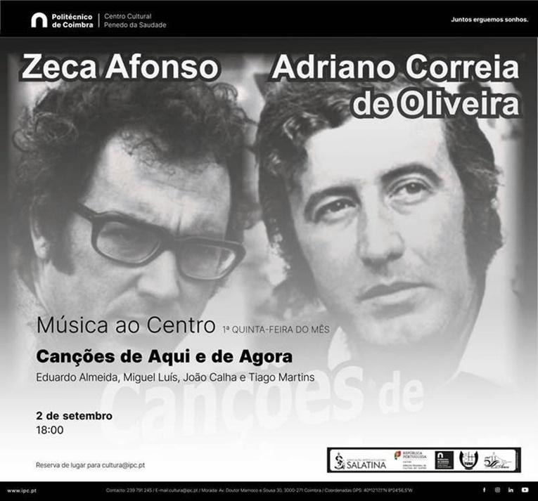 Rádio Regional do Centro: Música ao Centro no Centro Cultural do Politécnico de Coimbra