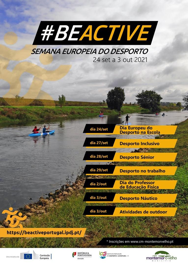 Rádio Regional do Centro: Município de Montemor-o-Velho celebra a Semana Europeia do Desporto