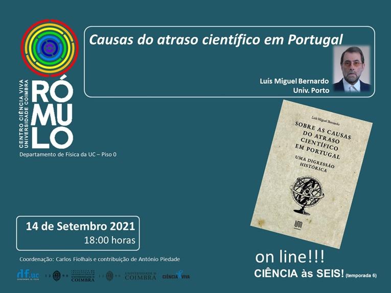 Rádio Regional do Centro: Rómulo promove conversa sobre atraso científico em Portugal