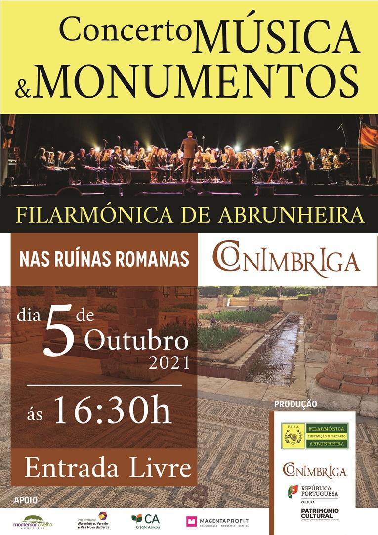 """Rádio Regional do Centro: Montemor-o-Velho: Filarmónica da Abrunheira apresenta-se em concerto """"Música & Monumentos"""""""
