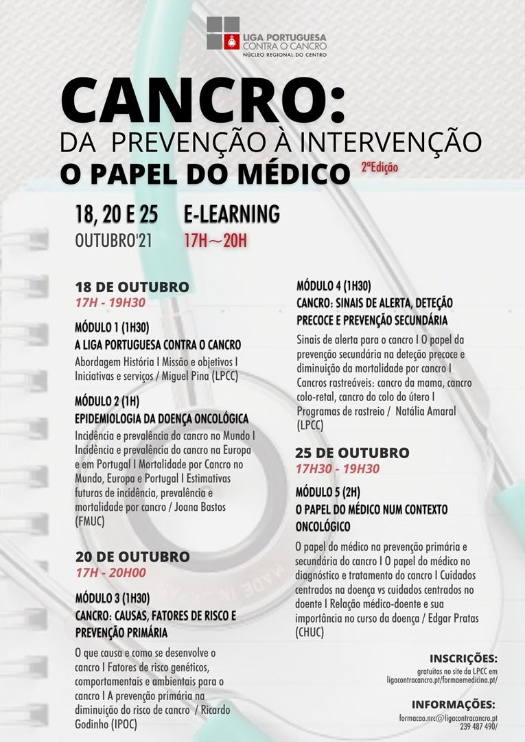 """Rádio Regional do Centro: LPCC alerta para """"O papel do médico na prevenção do cancro"""""""