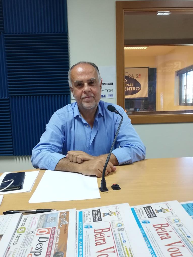 Rádio Regional do Centro: O Jornalista Lino Vinhal entrevista Horácio Pina Prata, presidente da NERC