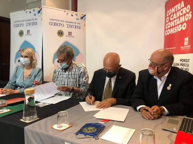 Rádio Regional do Centro: Lions Clubs assinaram protocolo com a LPCC para atribuição de bolsas de investigação