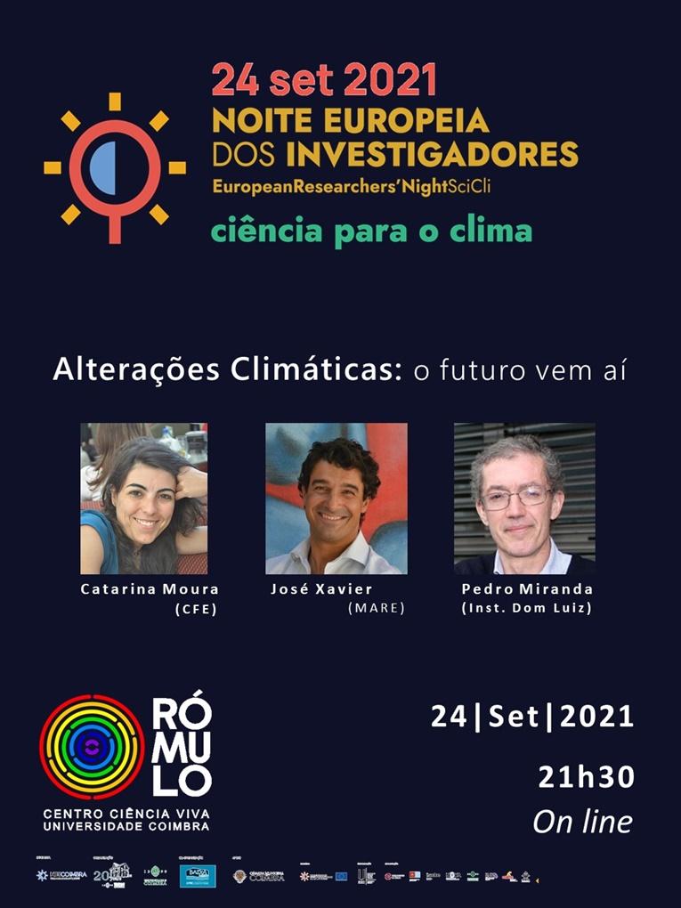 """Rádio Regional do Centro: RÓMULO apresenta """"Alterações Climáticas: o futuro vem aí"""""""