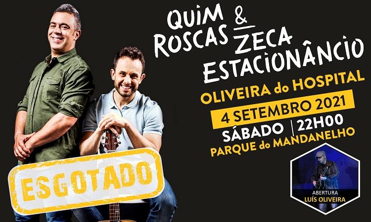 Rádio Regional do Centro: Esgotado espectáculo de Quim Roscas e Zeca Estacionâncio em Oliveira do Hospital