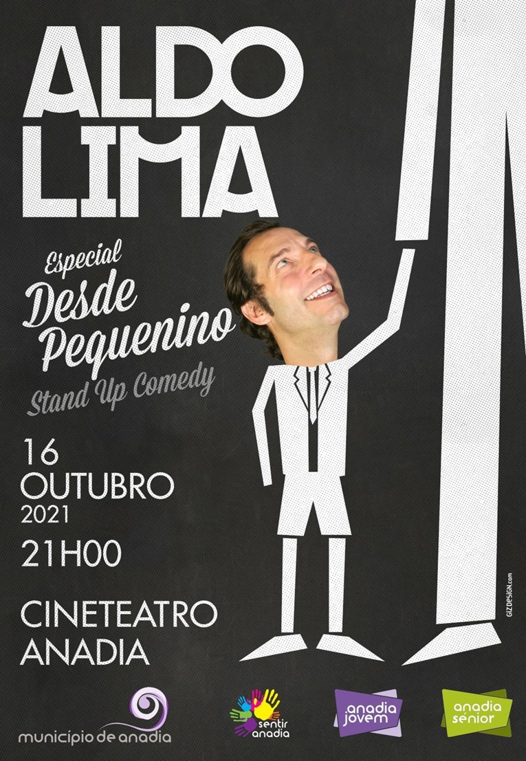 Rádio Regional do Centro: Cineteatro Anadia recebe espectáculo de stand up comedy de Aldo Lima