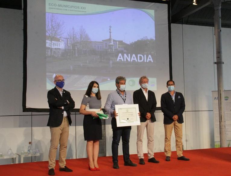 Rádio Regional do Centro: Município de Anadia distinguida com Bandeira Verde ECO XXI