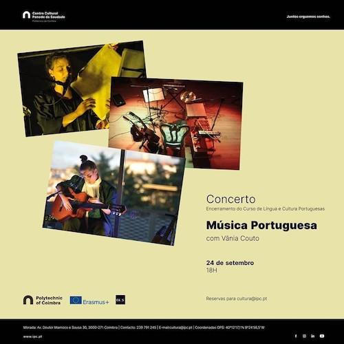Rádio Regional do Centro: Concerto de Vânia Couto no Centro Cultural do Politécnico de Coimbra