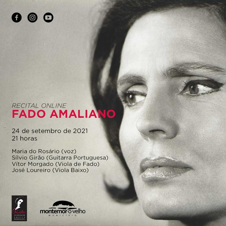 Rádio Regional do Centro: Montemor-o-Velho: Recital de Fado Amaliano online celebra Amália Rodrigues