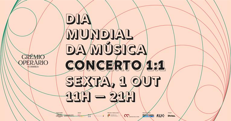 Rádio Regional do Centro: Grémio Operário de Coimbra acolhe 40 concertos ao longo de 10 horas