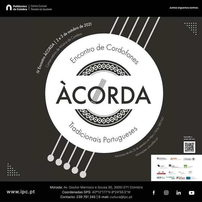 Rádio Regional do Centro: IV Encontro de Cordofones Tradicionais Portugueses – ÀCORDA