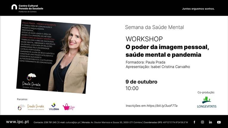 Rádio Regional do Centro: Workshop de saúde mental no Centro Cultural do Politécnico de Coimbra