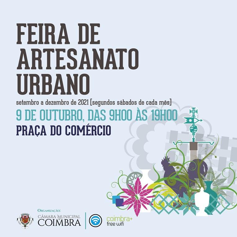 Rádio Regional do Centro: Feira de Artesanato Urbano regressa à Baixa de cidade no próximo sábado
