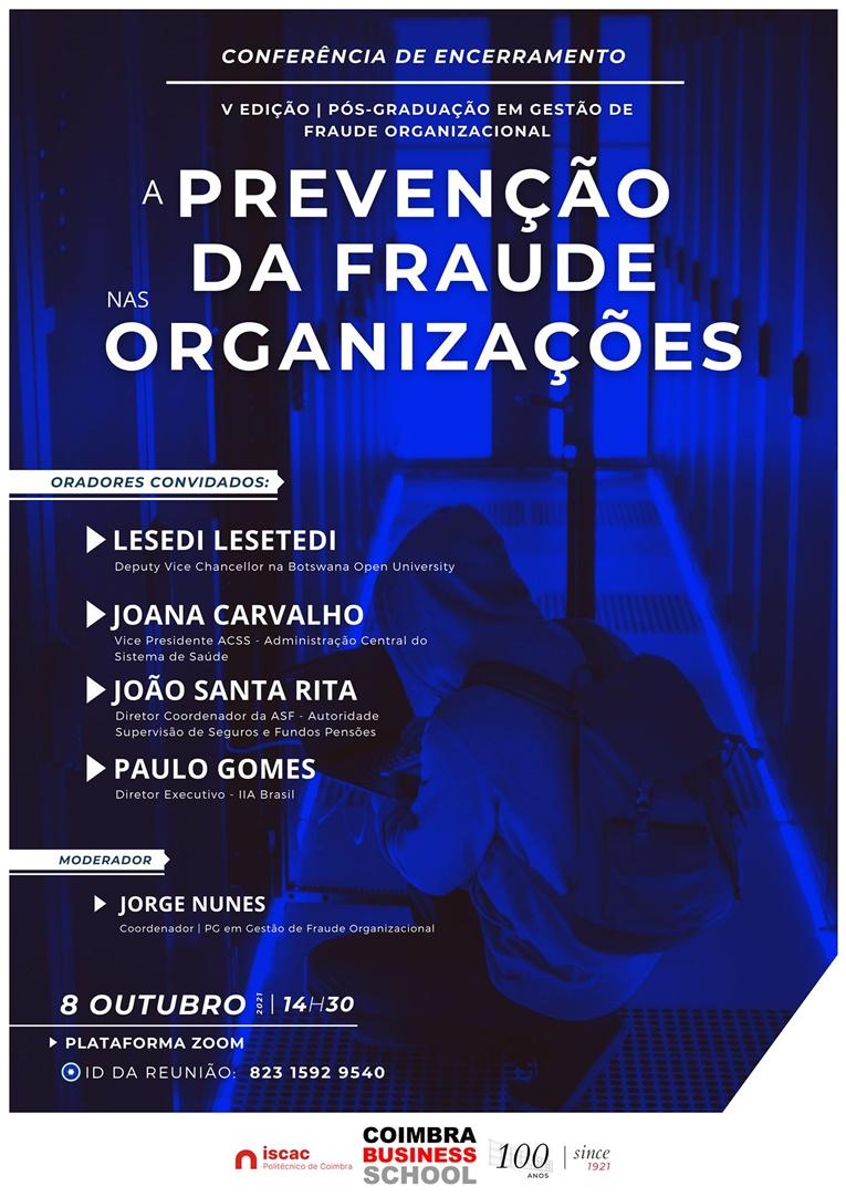 Rádio Regional do Centro: 5.ª Edição da Pós-graduação em Gestão da Fraude Organizacional decorre esta sexta-feira