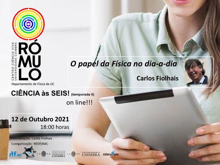 """Rádio Regional do Centro: O RÓMULO apresenta """"O papel da física no dia-a-dia"""""""