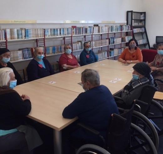 Rádio Regional do Centro: Biblioteca Municipal de Cantanhede promoveu actividades de leitura para seniores