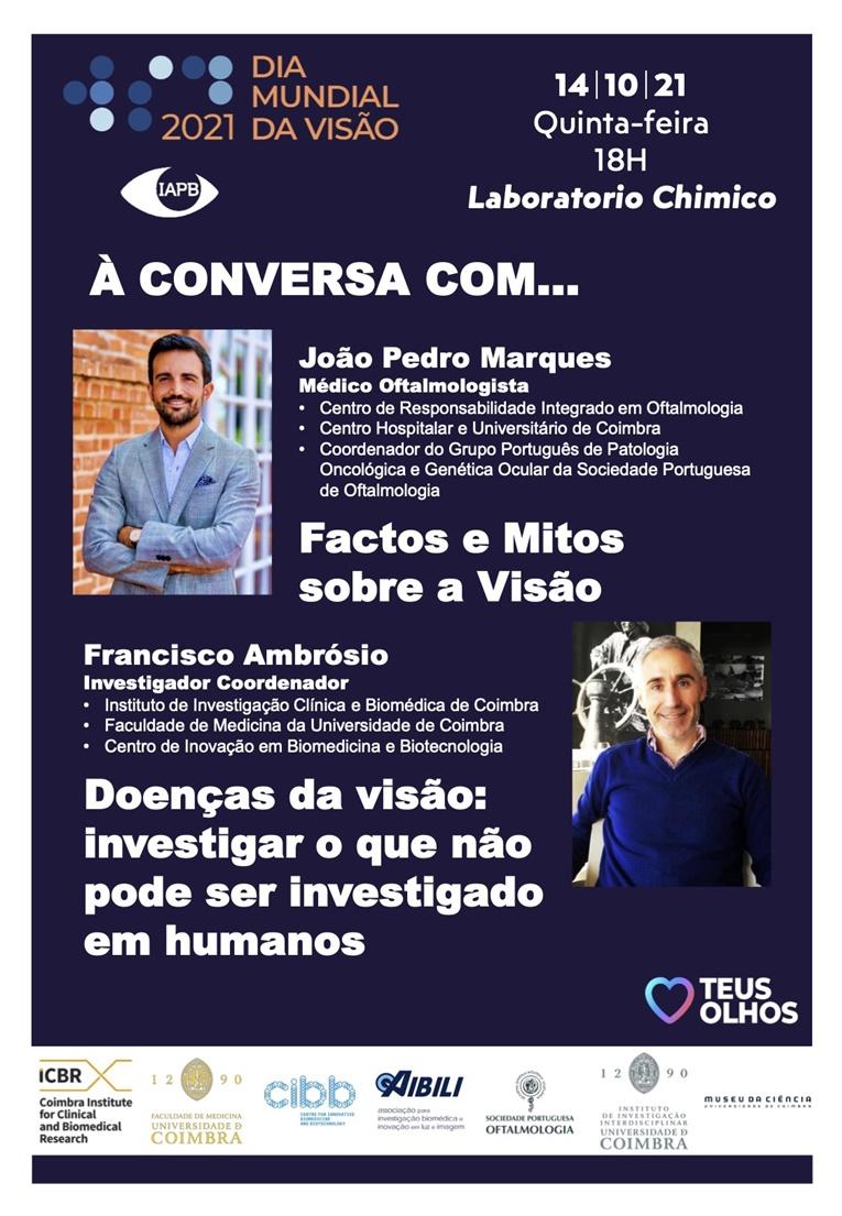 Rádio Regional do Centro: Universidade de Coimbra assinala Dia Mundial da Visão com palestras
