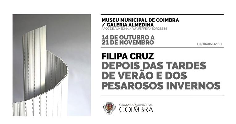 Rádio Regional do Centro: Exposição de Filipa Cruz junta escultura e literatura na Galeria Almedina