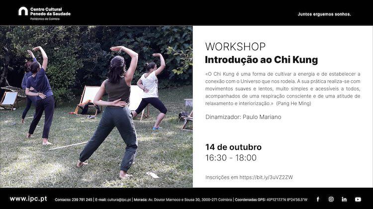Rádio Regional do Centro: Workshop de Chi Kung no Centro Cultural do Politécnico de Coimbra