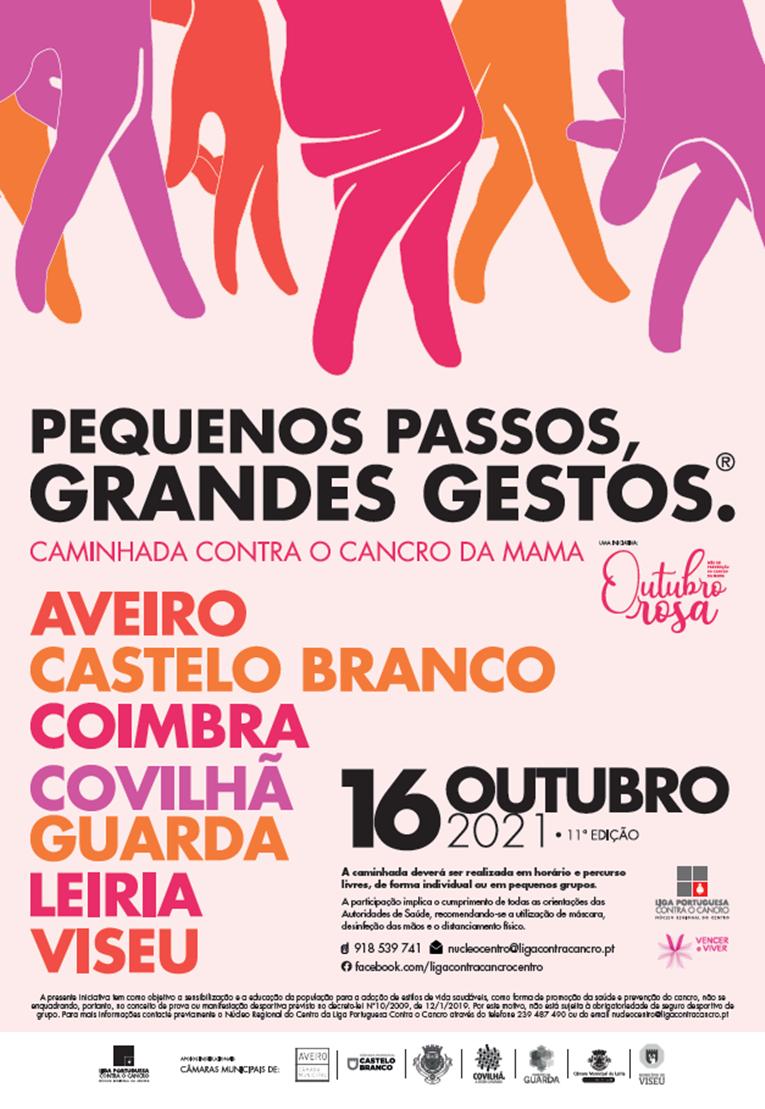 """Rádio Regional do Centro: Caminhadas """"Pequenos Passos, Grandes Gestos"""" de volta a sete cidades da região Centro"""