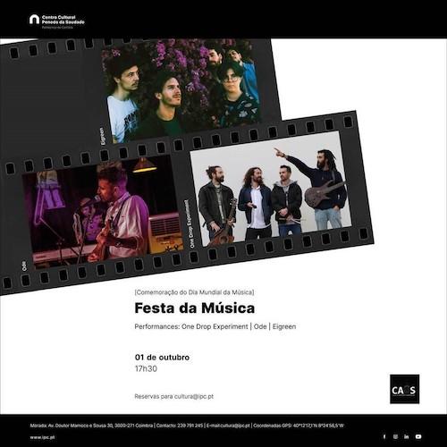 Rádio Regional do Centro: Festa da Música no Centro Cultural do Politécnico de Coimbra