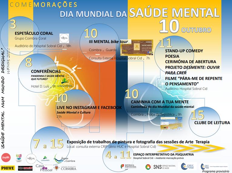 Rádio Regional do Centro: CHUC assinala Dia Mundial da Saúde Mental com diversas iniciativas