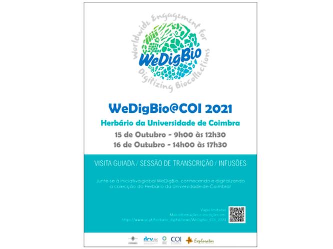 Rádio Regional do Centro: Herbário da UC participa na iniciativa global WeDigBio
